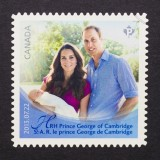 Postzegel prins George van Cambridge