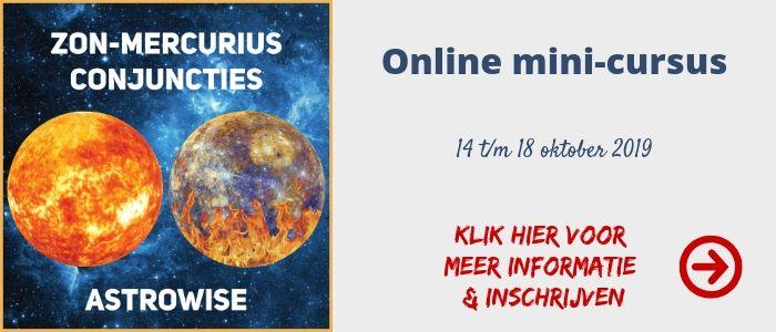 Online mini-cursus Zon-Mercurius Conjuncties